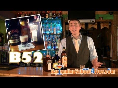 How To Make A Layered B52 Shot (a Bailey's Irish Cream Drink Recipe)