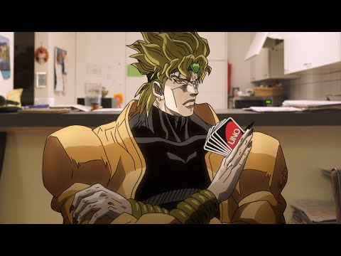 Jojo's Bizarre Uno Game (JJBA In Real Life)