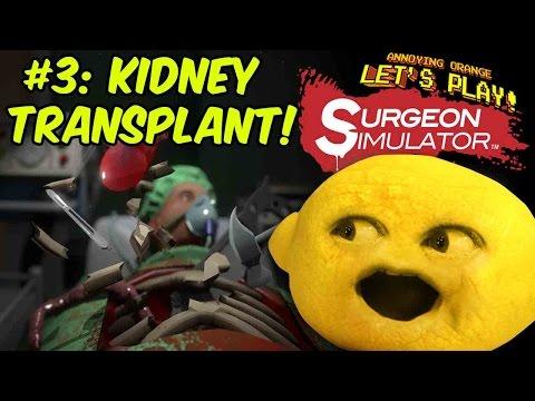 Grandpa Lemon Plays Surgery Simulator #3: Kidney Transplant