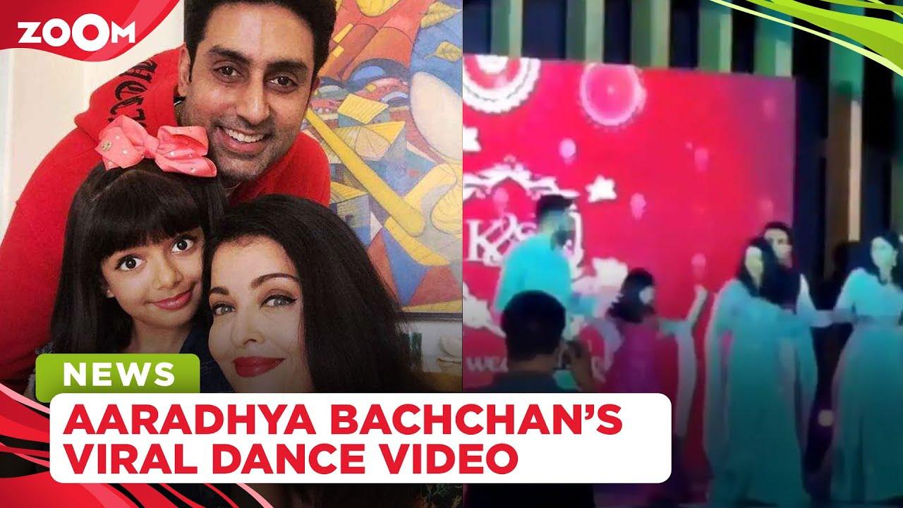Aaradhya Bachchan dances with parents Aishwarya Rai and Abhishek Bachchan, video goes viral
