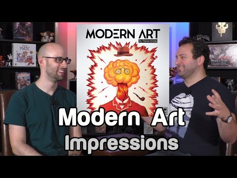 Modern Art Impressions | Roll For Crit