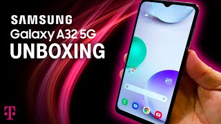 Samsung Galaxy A32 5G Unboxing | T-Mobile