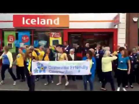 Evesham Dementia Action Alliance's Flash Mob