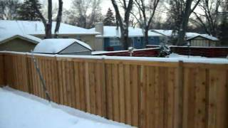 Cedar Privacy Fence Picture Framed Crystal, Mn 612-281-0558