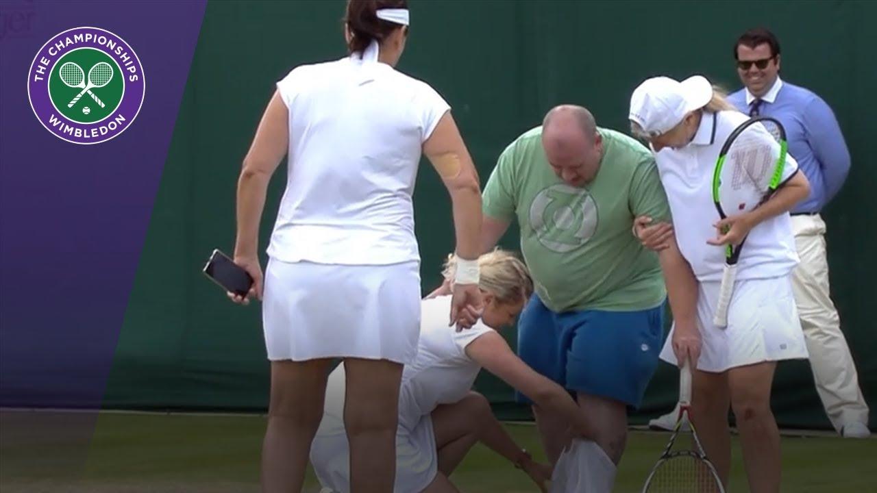 Wimbledon'dan en komik karelere