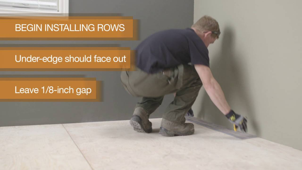 How to install allure gripstrip flooring youtube how to install allure gripstrip flooring dailygadgetfo Images
