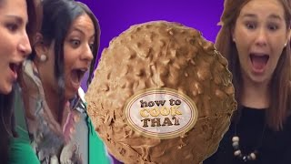 GIANT FERRERO ROCHER RECIPE How To Cook That Ann Reardon