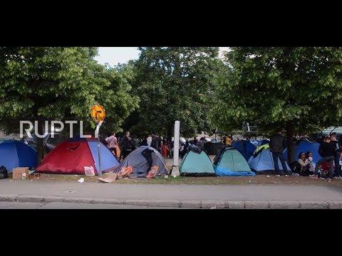 Bosnia and Herzegovina: Sarajevo camp overcrowded amid migrant arrivals spike