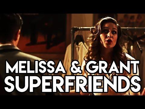 Melissa Benoist & Grant Gustin - Superfriends Lyrics (Full Performance)