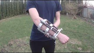 як зробити міні арбалет на руку