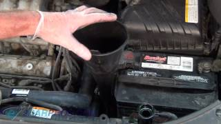 kia sportage oil leak part 2 watch the video. Black Bedroom Furniture Sets. Home Design Ideas