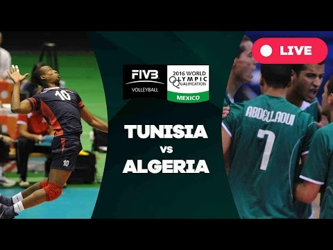 Tunisia v Algeria- 2016 Men's World Olympic Qualification Tournament