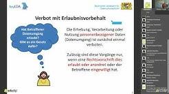 Webinar: Datenschutz-Grundverordnung für kleine Vereine