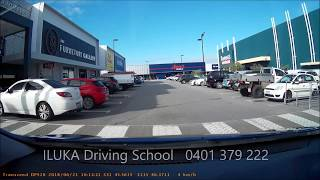 Western Australia Driving Test - General Driving in Joondalup (part 1)