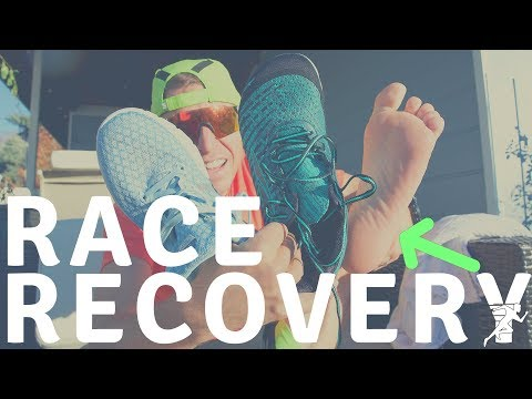 Recovery Ideas after hard Running Races