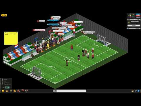 Habbo World Cup Final -- Norway Vs Netherlands