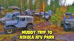Askolan 4x4 ATV-Puistossa Maastoajo Päivät 2019