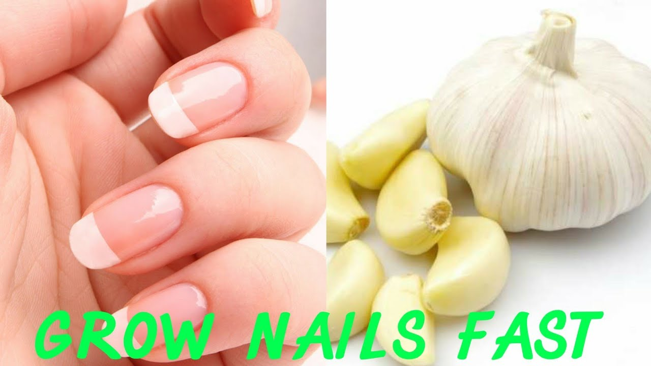 How to grow long strong nails fast at home /How to use nail serum ...