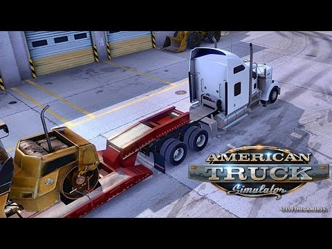 AMERICAN TRUCK SIMULATOR EP 8 - NEW PROFILE - HURON TO BARSTOW (ATS MODS)