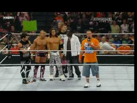 John Cena & Raw Try To Attack Nexus - YouTube