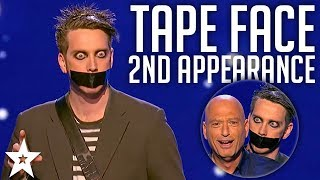 Tape Face 2nd Appearance | America's Got Talent 2016 Finalist | Got Talent
