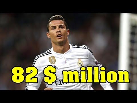 Top Highest Paid Footballers 2017 ~ Ronaldo , Messi , Neymar , Ibrahimovic , Gareth Bale...etc [HD]
