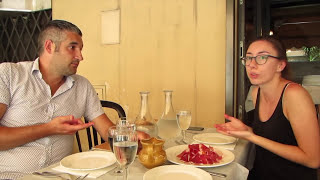 ITALIAN CONVERSATION #23 - CHATTY LUNCH WITH VINCENZO'S PLATE