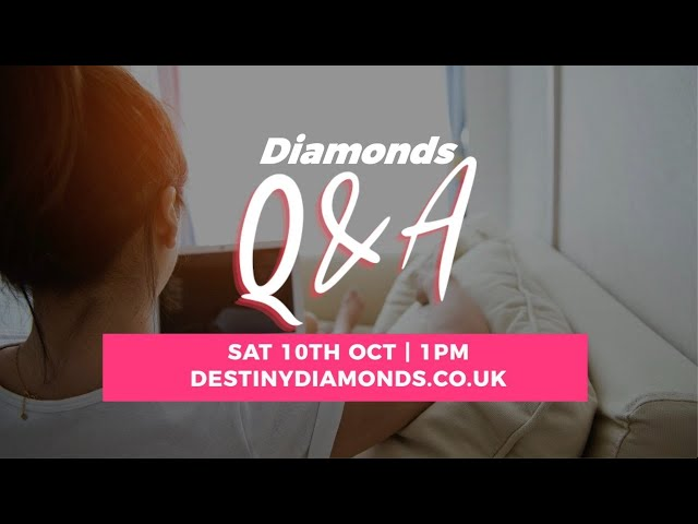 Live Q&A with Anne Calver #DiamondsOnline2020