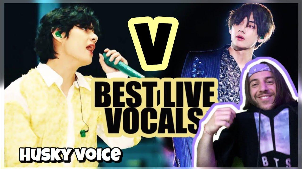 My Bias! Kim Taehyung (BTS V) : Best Live Vocals [REACTION]