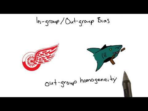 In-group/out-group bias - Intro to Psychology