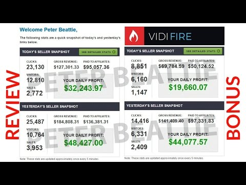 VidiFire Review Bonus - Ultimate Sales Video Creation Templates + Training