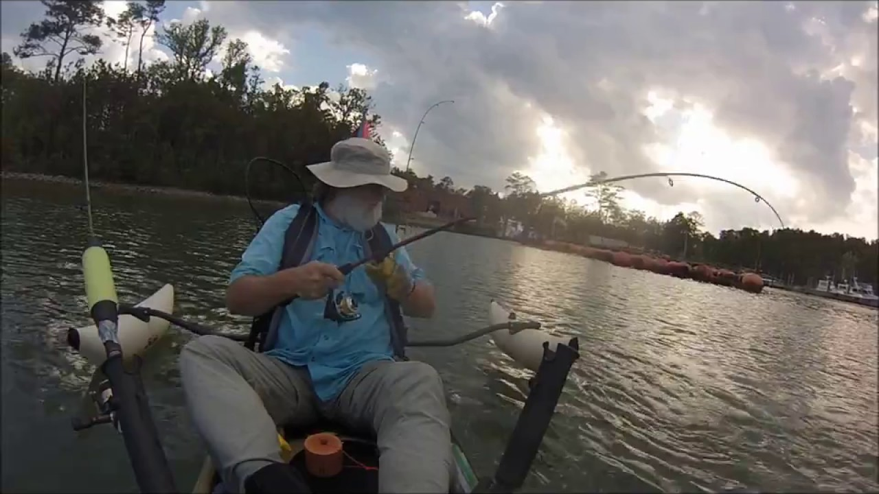 Rudee inlet fishing for specks youtube for Rudee inlet fishing report