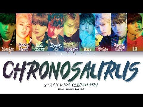 Stray Kids - Chronosaurus (Color Coded Lyrics Eng/Rom/Han/臧�靷�)