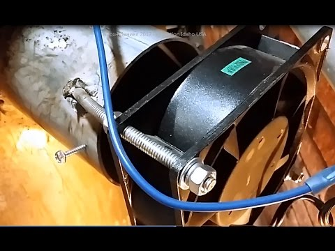Upgrading a waste engine oil or used oil furnace parts for Used motor oil furnace