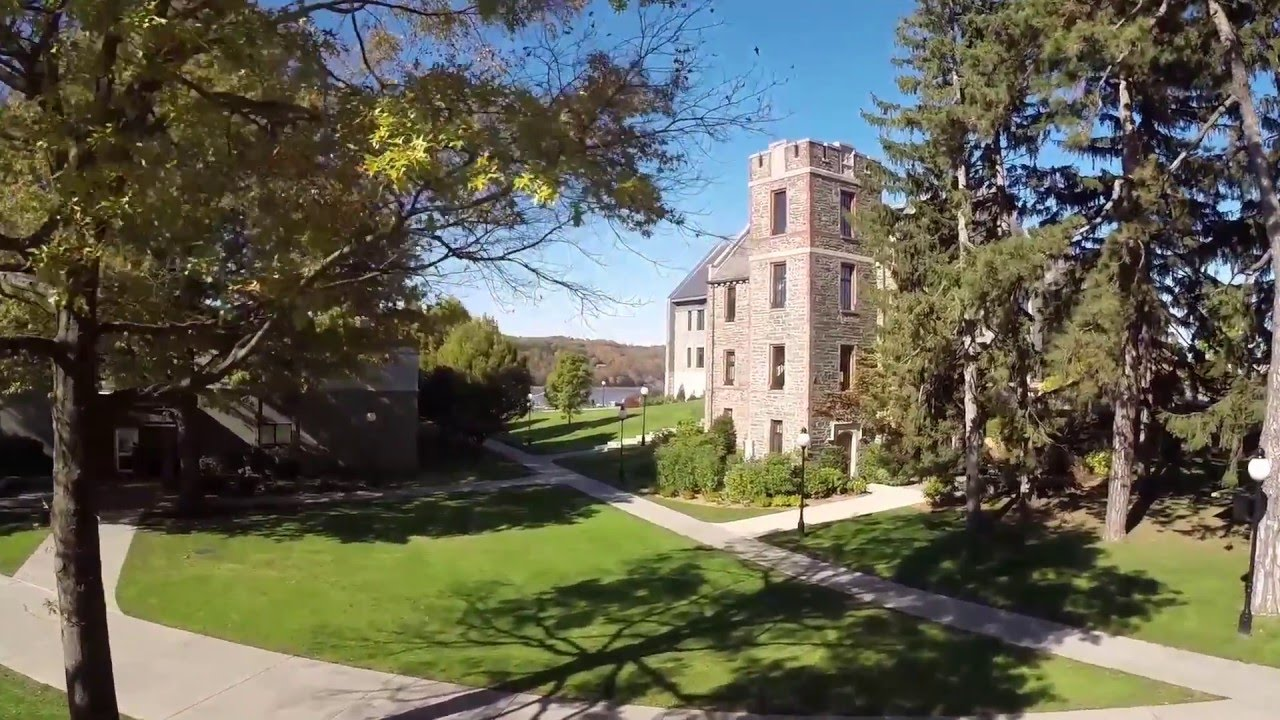 Marist Campus Fly Over Virtual Tour Youtube