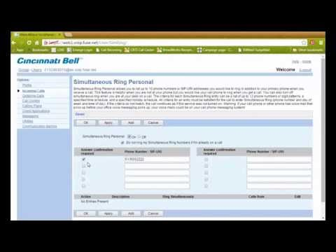 Connected Office Voice Tutorial - Administrator portal
