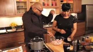 Shirley Strawberry & G. Garvin Cook Bbq Wings With Coca-cola