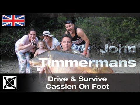 ***Carp Fishing*** Drive & Survive  - Cassien On Foot - John Timmerman's