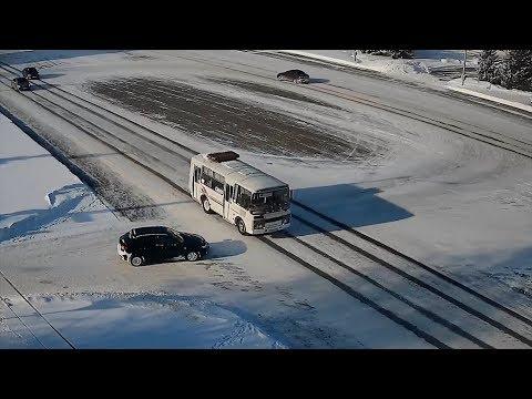 Общественный транспорт в Шадринске продолжает функционировать не смотря на наступившие морозы