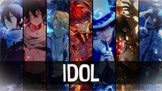 ⧔Nightcore⧕ → IDOL (Switching Vocals) |Lyrics| {10k Sub Special}