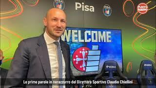 Pisa Sc, presentato il nuovo DS Claudio Chiellini