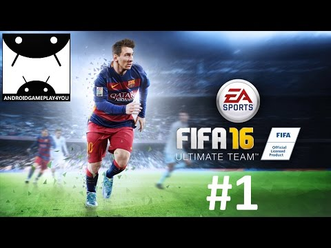 FIFA 16 Ultimate Team Android GamePlay #1 (1080p)