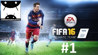 Video FIFA 16 Ultimate Team Android GamePlay #1 (1080p) download MP3, 3GP, MP4, WEBM, AVI, FLV Desember 2017