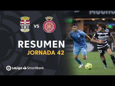 Cartagena Girona Goals And Highlights