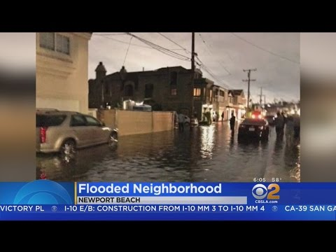 Seawall Torn Down By Mistake Leads To Flooding In Newport Beach