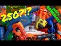 just a jolt Massive Nerf Arsenal 200 guns + World's Smallest Nerf Gun To Vintage Nerf to MV11-10K