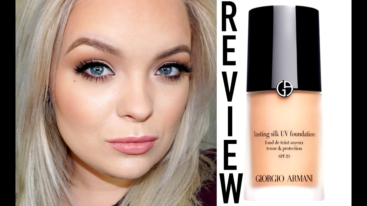 Giorgio Armani Lasting Silk Uv Foundation Review Brianna