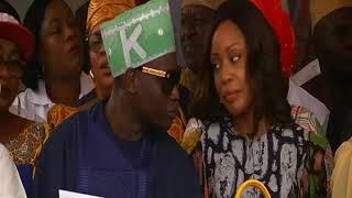 Ambode unveils refurbished Abiola