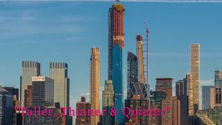 Thinnest Building In The World 111 West 57th Street March 17, 2019