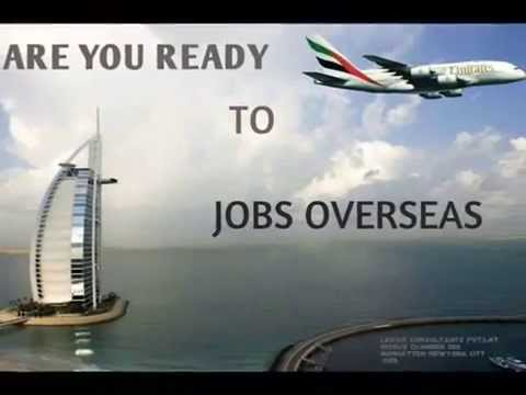 Job overseas  in USA , CANADA, UK, FRANCE,GERMANY,SAUDI ARABIA,DUBAI  and many more countries